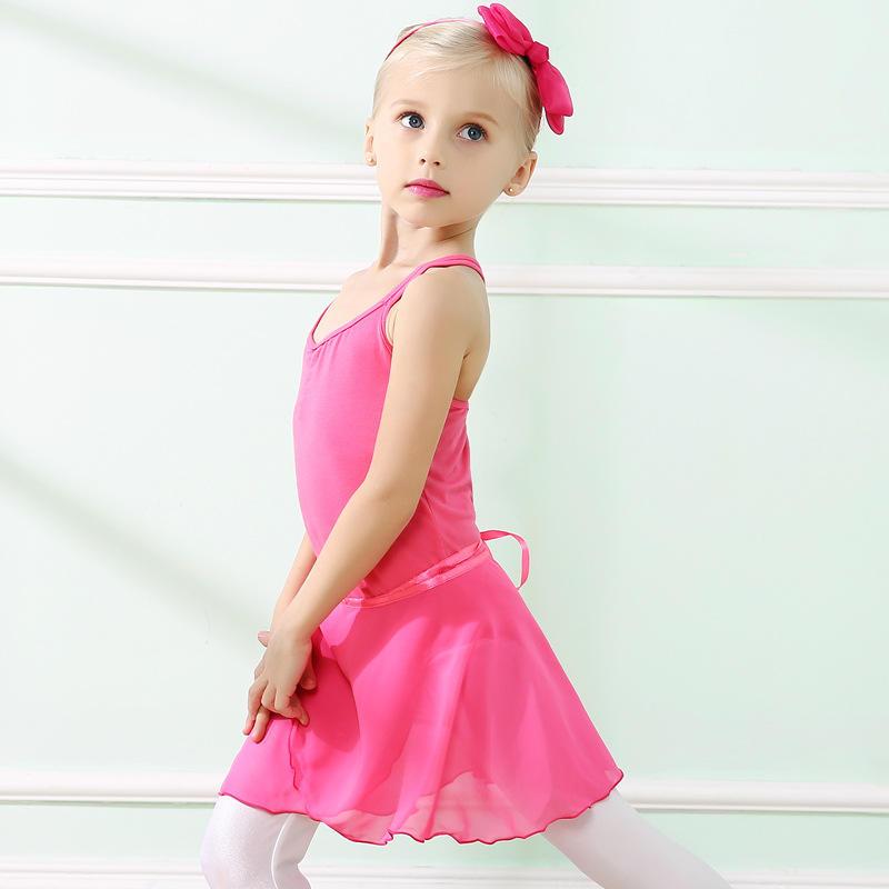 Moda infantil de dança traje vestido de dança Latina