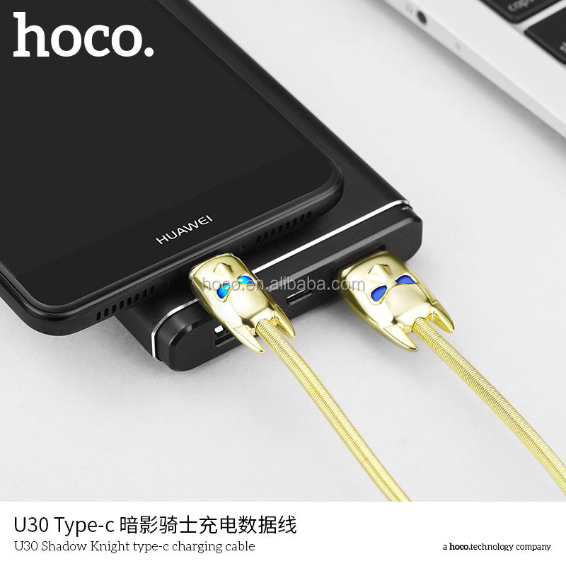 HoCo U30 Shadow Knight carga para Lumix plana cable de carga para Nokia HTC