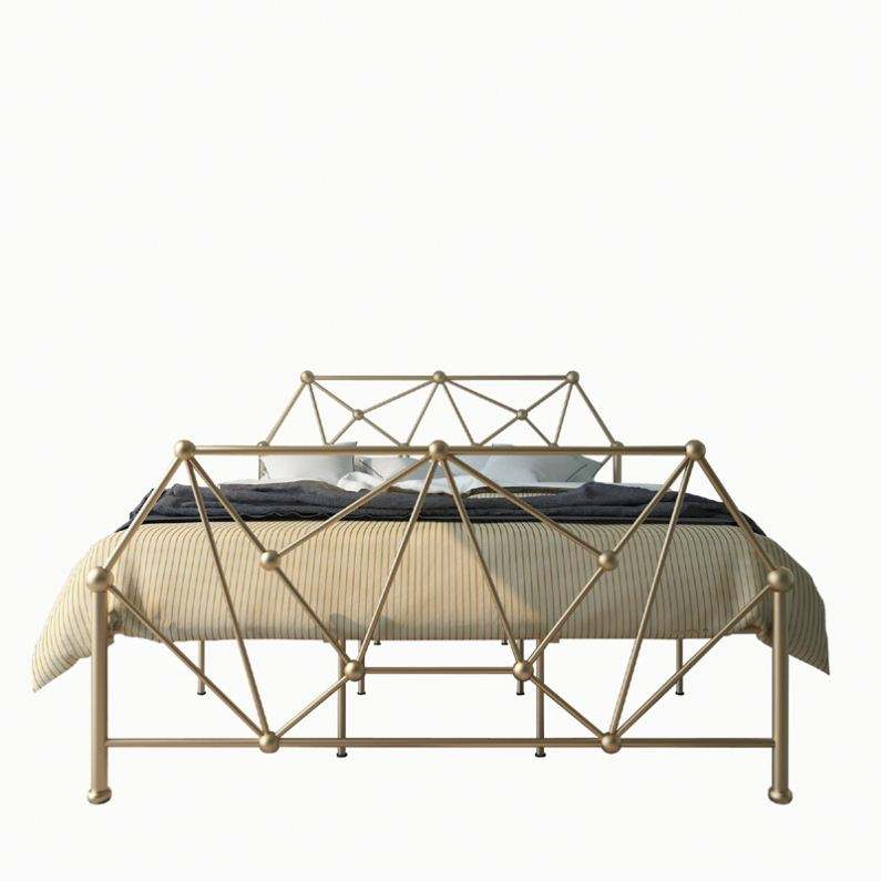 Ferro de aço de alta qualidade dobrável cama de metal único para venda