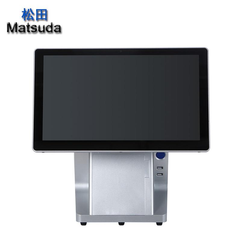Support de tablette I3 processeur de caisse au détail pos système machine de paiement en espèces