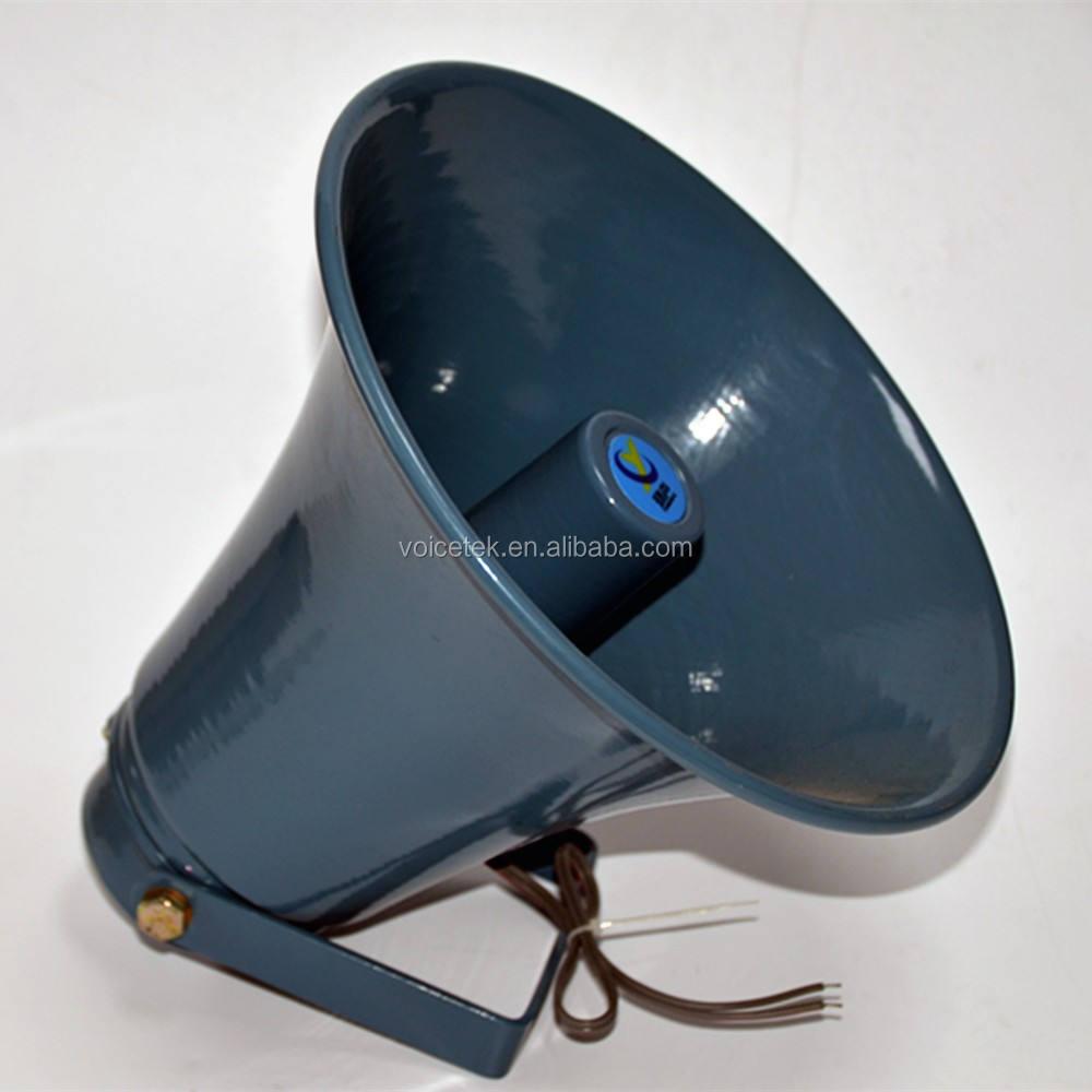 Uso seguridad RAH-10K PA sistema de sonido 70 V 100 V al aire libre altavoz de la sirena <span class=keywords><strong>12</strong></span> w 8ohm