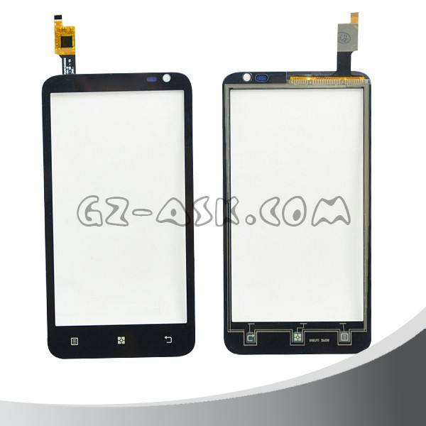 Đối với lenovo s720 cho điện thoại màn hình cảm ứng digitizer glass touch panel Đen màu di động phụ kiện