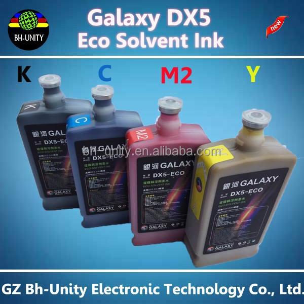 Mejores ventas Galaxy <span class=keywords><strong>tinta</strong></span> eco solvente lm-0101 para DX5 productos baratos procedentes de china