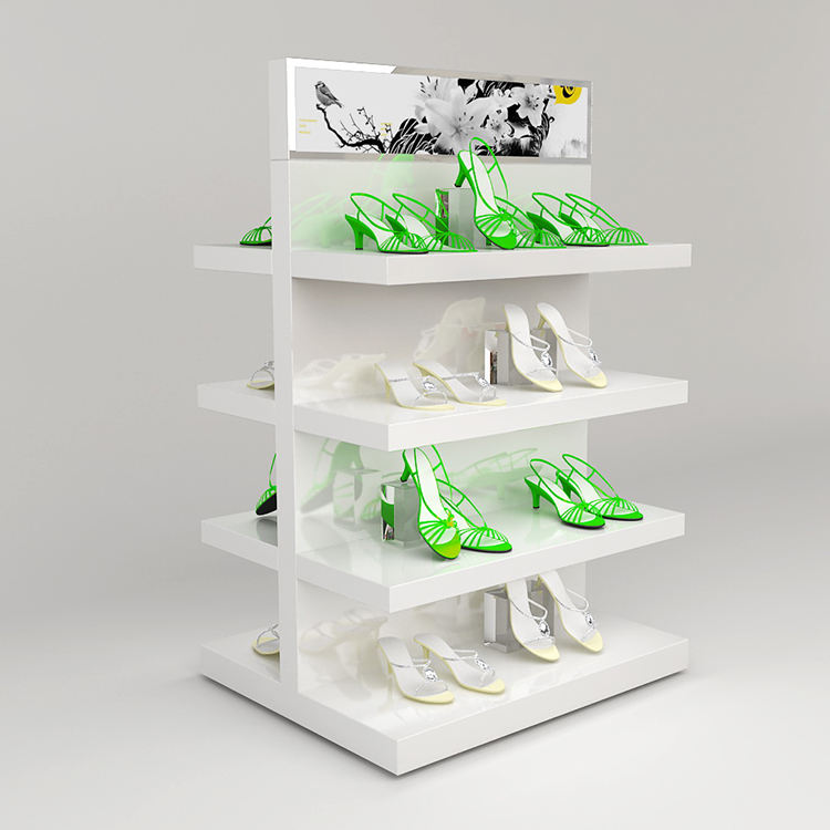 4 couches Femmes Chaussures <span class=keywords><strong>Plateau</strong></span> <span class=keywords><strong>Affichage</strong></span> Étagères À Chaussures Pour Les Magasins <span class=keywords><strong>Affichage</strong></span>