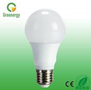 Greenergy 270 graus 6w 480lm bulbo b22/e26/e27 levou alumínio luz corpo +plastic fábrica de ningbo