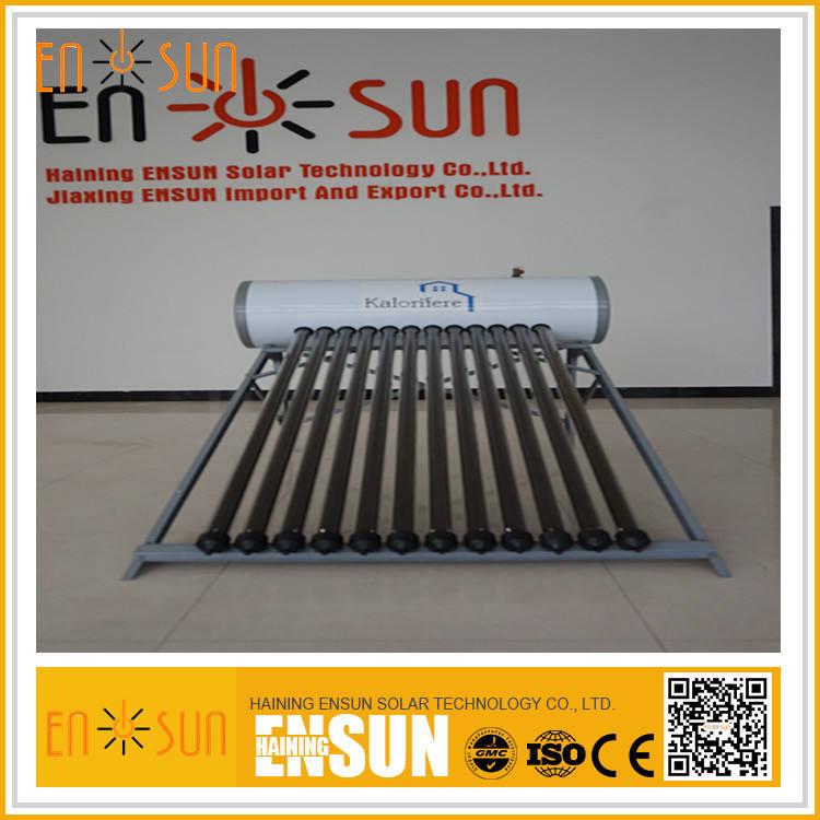 최고 품질 최고의 판매 열 파이프 최신 디자인 태양 물 히터 12 튜브