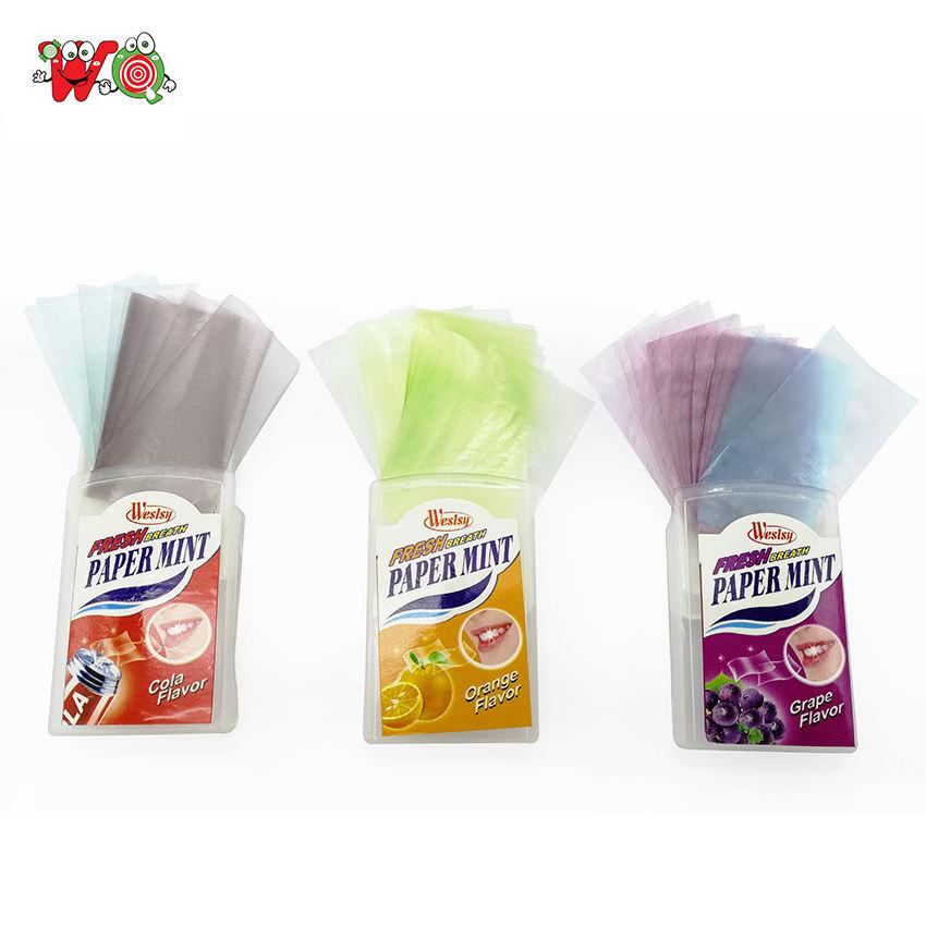 Souffle bandes confiserie bonbons papier menthe pour vente