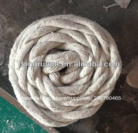 асбест веревку с запыленных