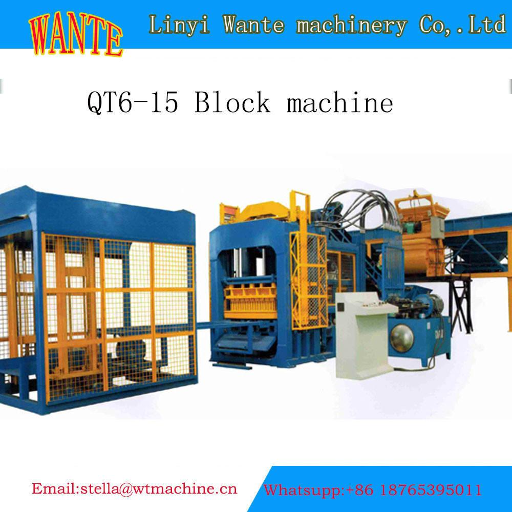 QT10-15 Bonne performance béton verrouillage machine de <span class=keywords><strong>brique</strong></span>