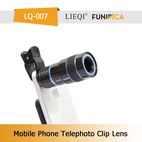 <span class=keywords><strong>Elettrico</strong></span> 8x primo teleobiettivo con clip universale per il cellulare lieqi lq-007 marca
