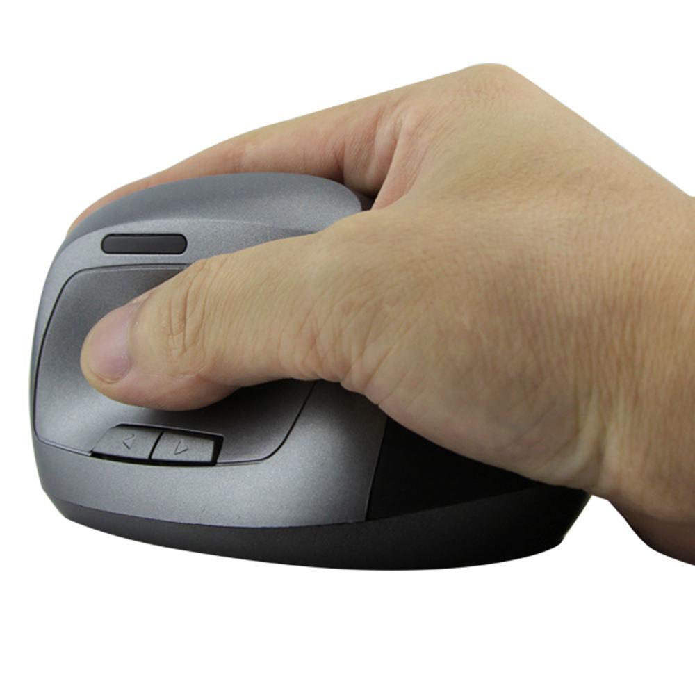 كمبيوتر محمول السلكية الماوس مريح نموذج مع هلام لمس دعم المعصم