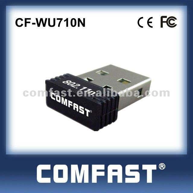высокое качество comfast 150 мбит/с wi-fi мини чтения 2.0ieee 802.11g/группы в/л беспроводной сети n сетевой адаптер