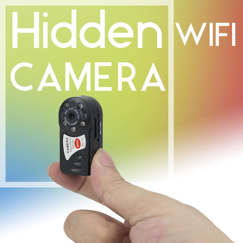 5 LED infrarrojos IR vigilancia de seguridad cámara de visión nocturna 720 p WiFi niñera cámara espía