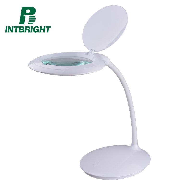 Глаз-забота лампа для чтения увеличительное стекло затемнения office лампа с USB зарядка порт регистрации свет книги