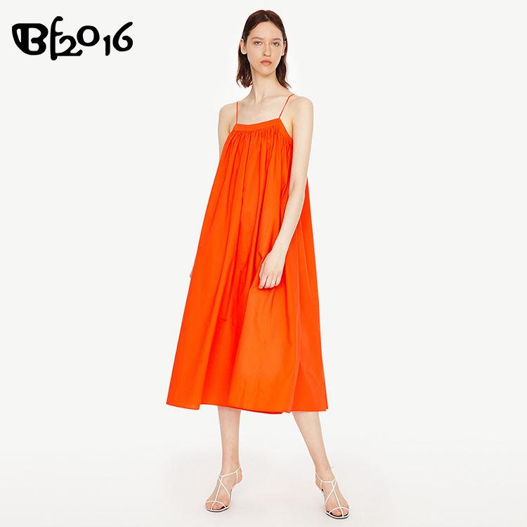 Di modo maxi lungo vestito delle donne fuori dal vestito della spalla organe