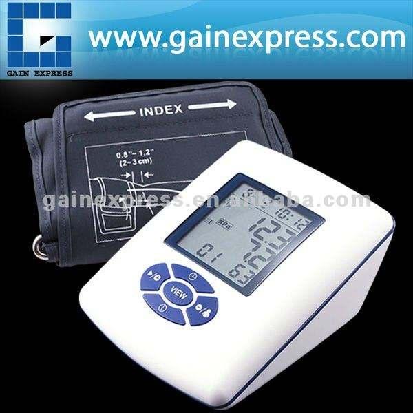 Vollautomatische oberer Arm-Blutdruck-Monitor-Tischplattenart Impuls-Messinstrument-Automobil aufblasen/entlüften