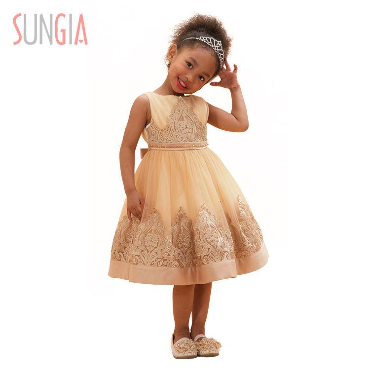 Нарядное платье принцессы для девочек для шоу вечеринки или свадьбы