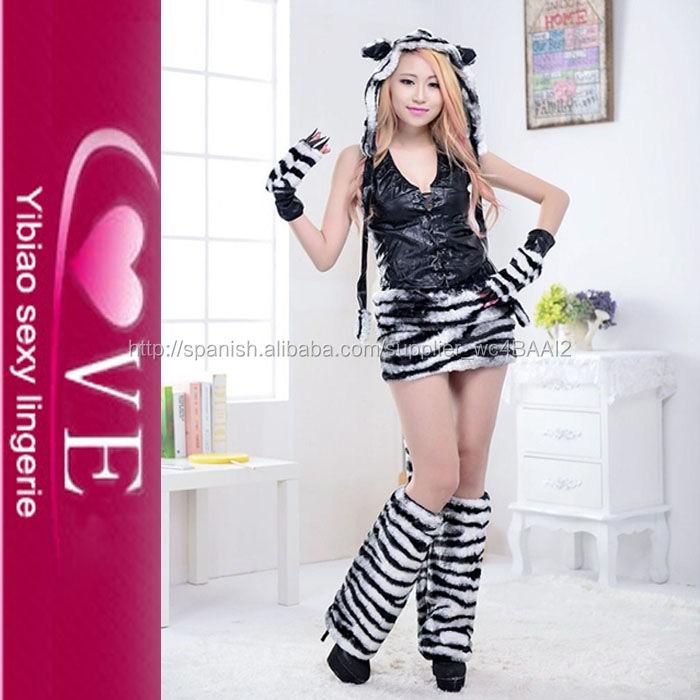 Venta caliente animal traje para traje de leopardo animal sexualidad película traje