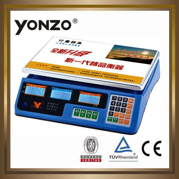 Yz-967 nhiều màu sắc nhà ở 40kg điện tử kỹ thuật số giá tính toán quy mô omron