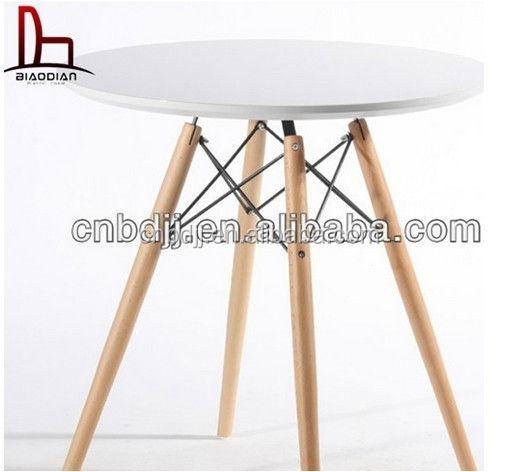 Mdf DSW <span class=keywords><strong>eiffel</strong></span> cruzar de pernas de de jantar com pernas de madeira sólida