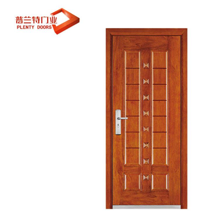 صنع في الصين شقة <span class=keywords><strong>الصلب</strong></span> المدرعة الباب الخشبي
