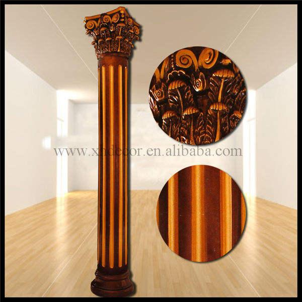antiguo tono diámetro 40 centímetro de latón pilar de color
