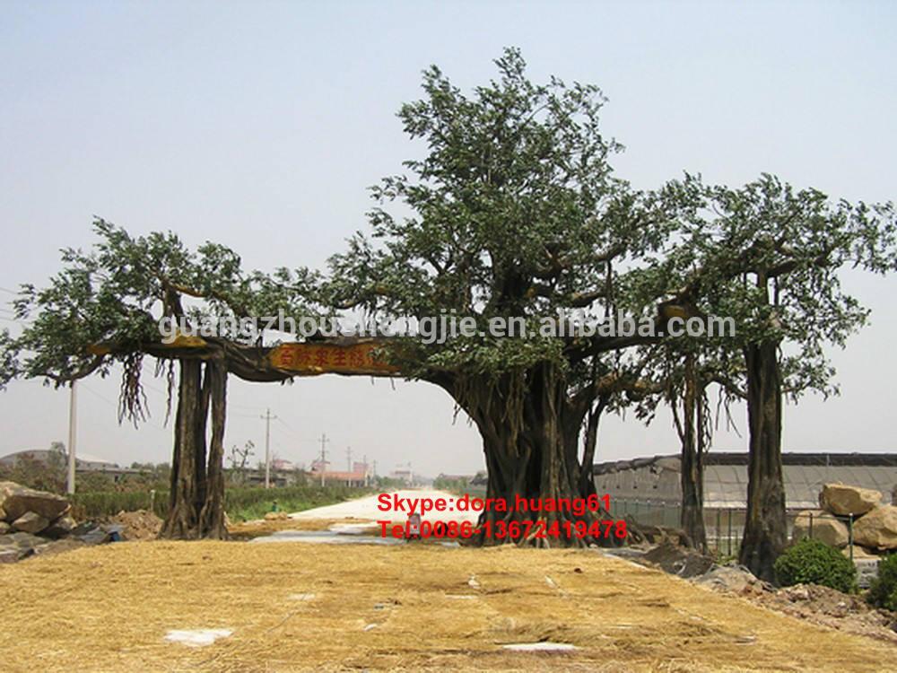 sjh1112805 인공 ficus 나무 ficus 인공 대형 ficus microcarpa 분재 나무