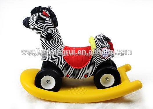 De un solo color forma del caballo de plástico <span class=keywords><strong>mecedora</strong></span> juguete Animal <span class=keywords><strong>cebra</strong></span> Animal del caballo <span class=keywords><strong>mecedora</strong></span>