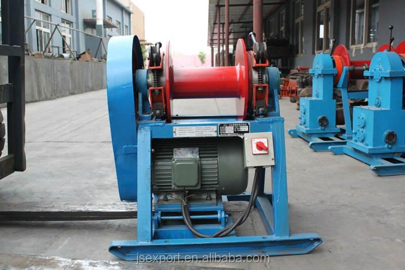 Động cơ diesel mô tơ điện hoặc dây cáp tời với dẫn viên lõi