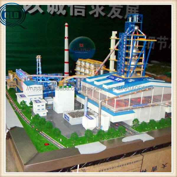 maniature промышленные причал модель производитель / промышленные миниатюрная модель