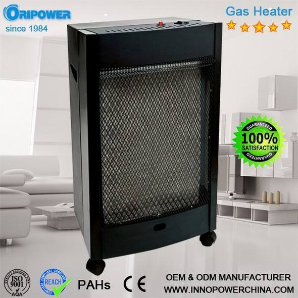 catalytic infrared gas fired room heater