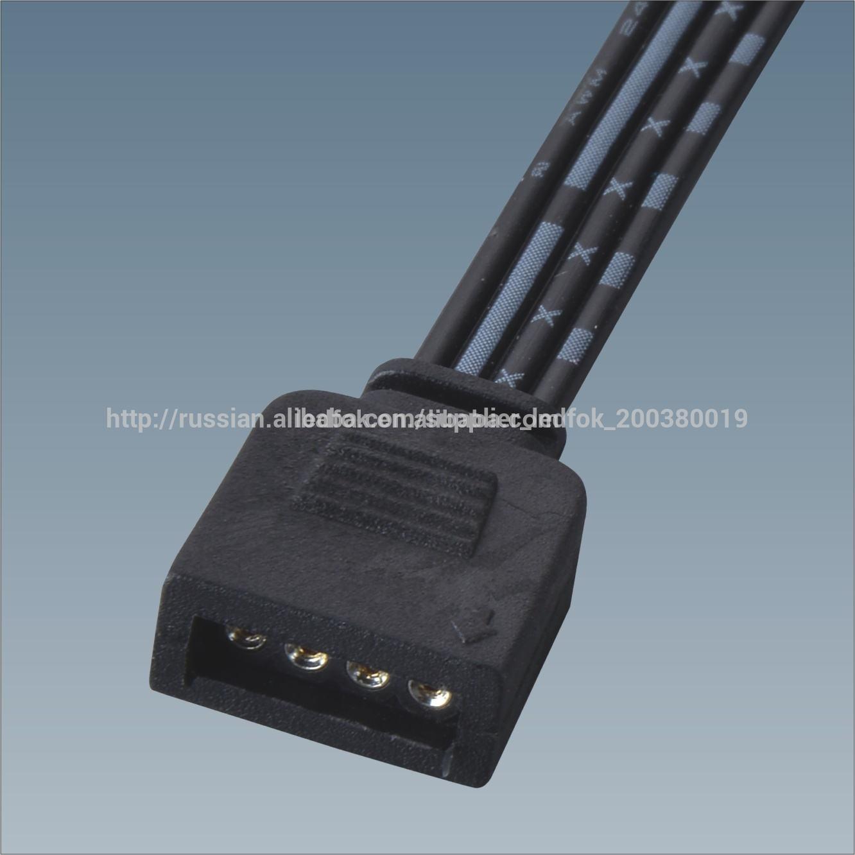 светодиодные фонари фея 4 ёильный кабель разъем