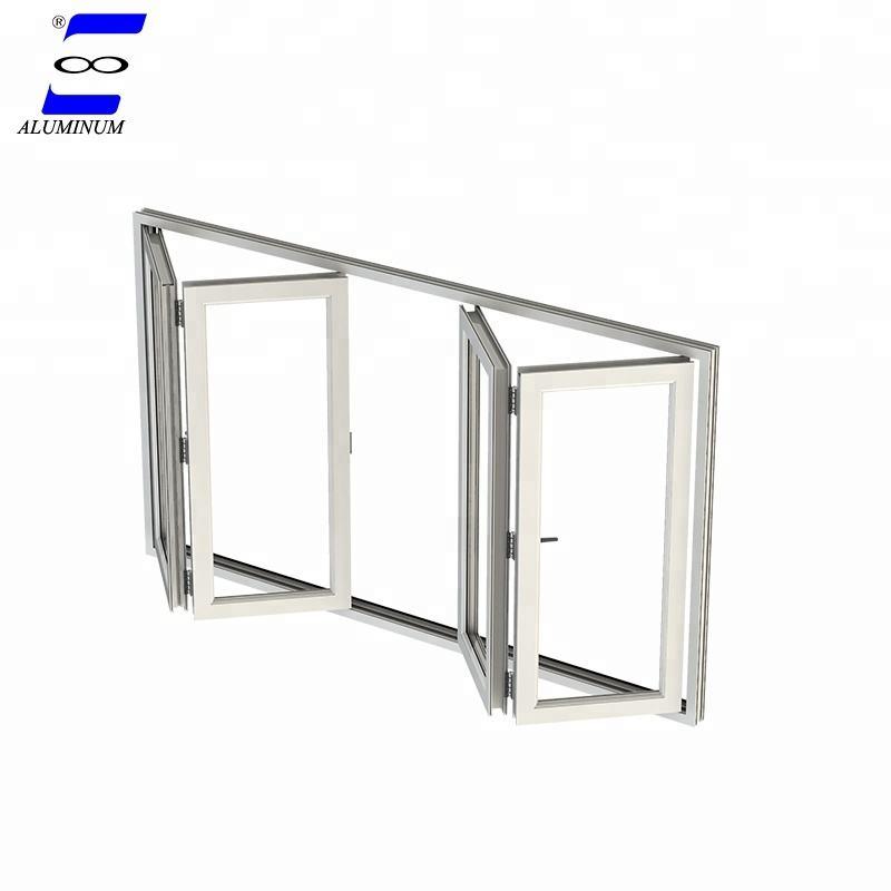 jardín de aluminio de cristal templado <span class=keywords><strong>exterior</strong></span> del balcón de la <span class=keywords><strong>ventana</strong></span> que dobla