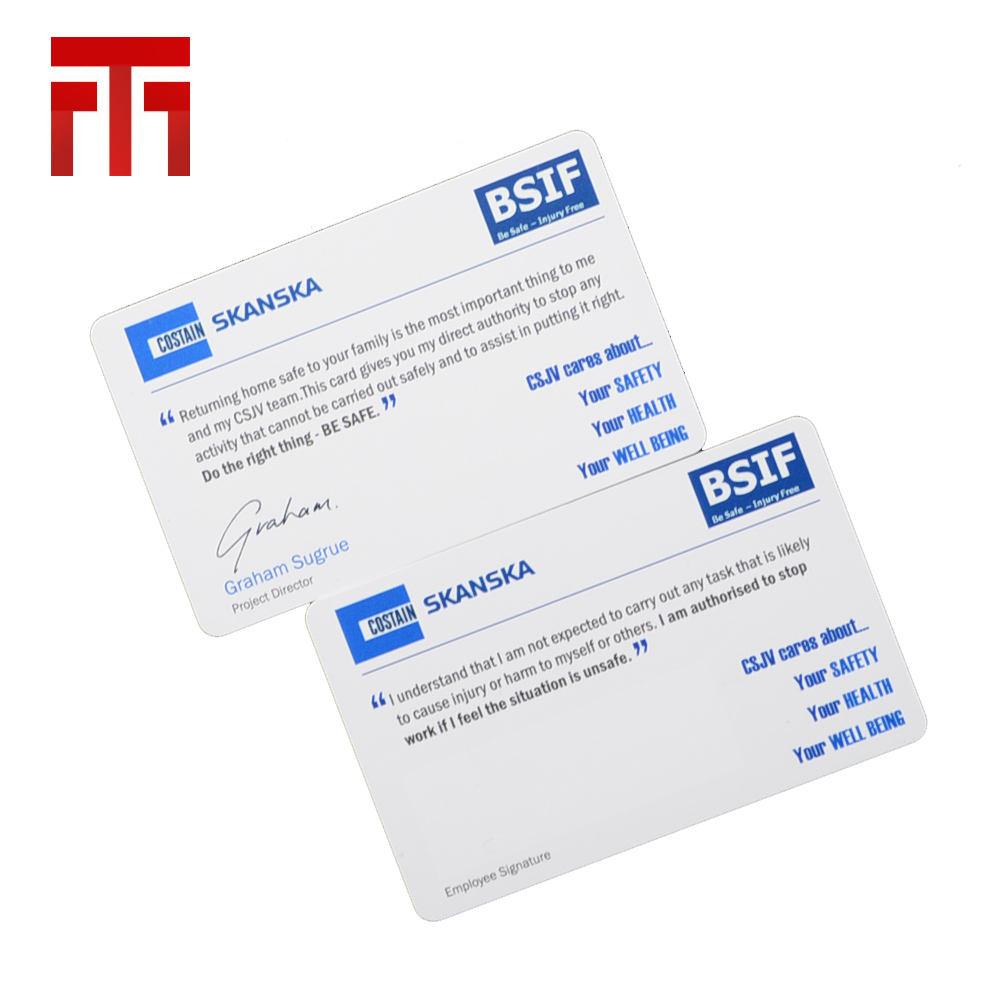 Melhor presente de plástico transparente ampliação em relevo folha de cartão de <span class=keywords><strong>identificação</strong></span>