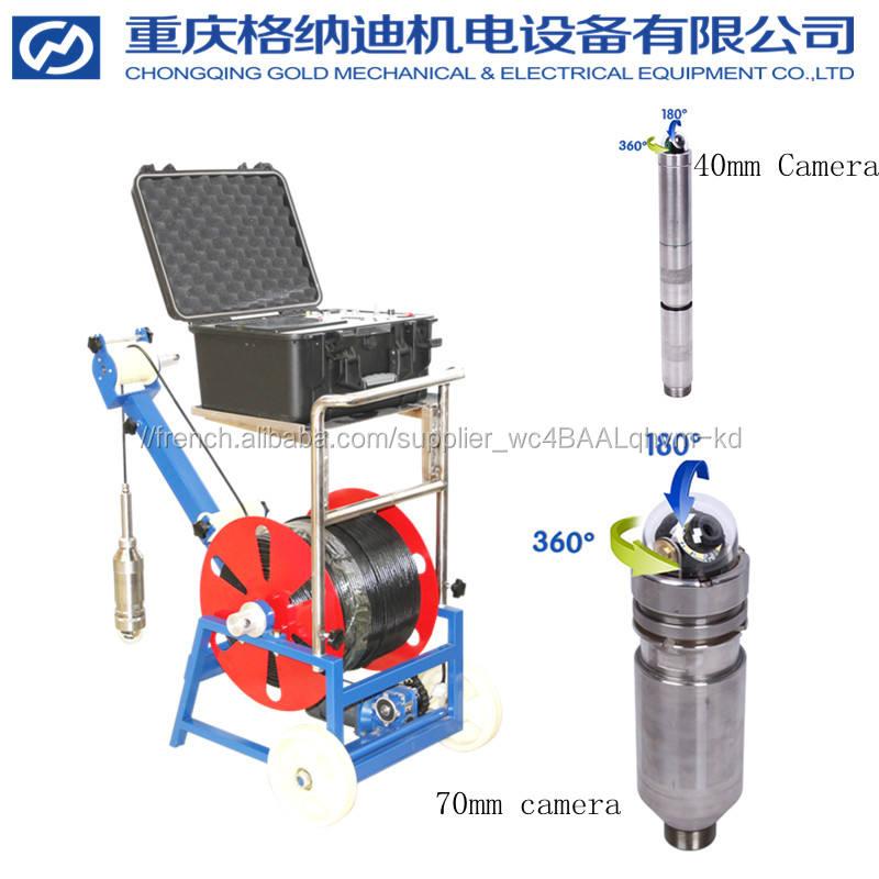 Caméra souterraine de forage de puits d'eau de <span class=keywords><strong>CCTV</strong></span>