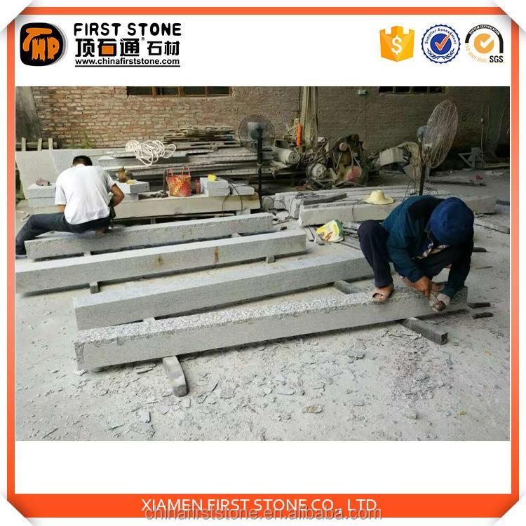 Producto caliente sésamo blanco empalizada, todos los lados selección fina acabado Nivel Superior mármol pilares House diseños