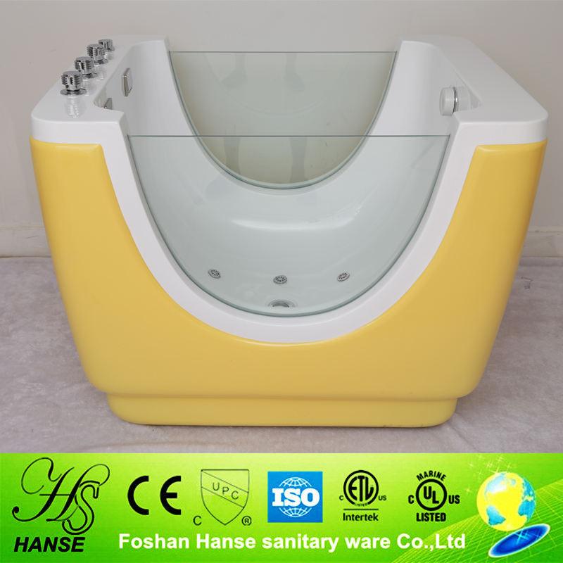 HS-B07 çocuk bebek yumuşak banyo küvet bebekler