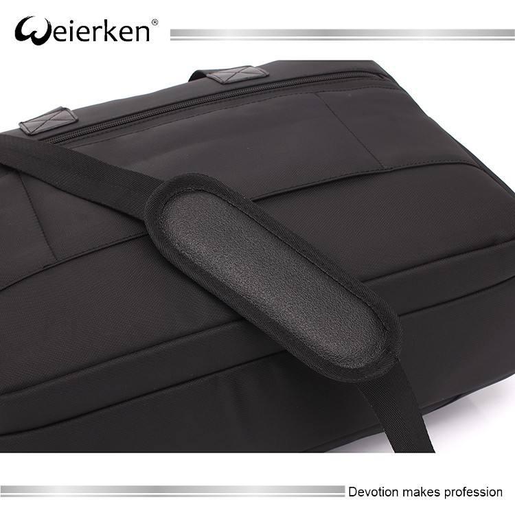 Personalizzato 17.3 pollice in bianco valigetta in borsa del computer portatile