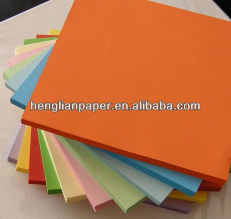 цветной бумаги