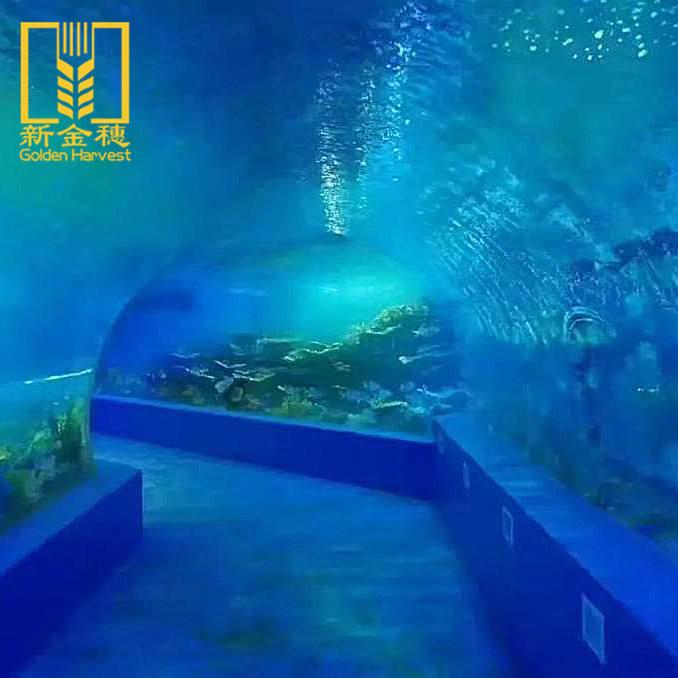 Melhor preço custom folha de material da decoração do aquário de acrílico transparente
