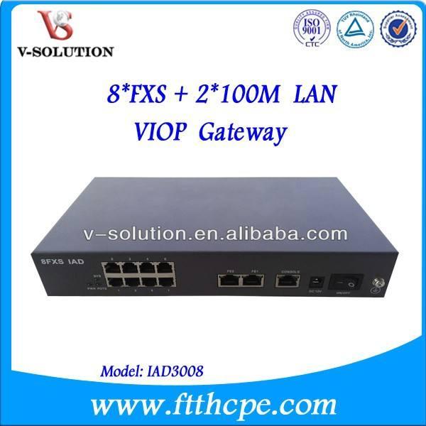 テレコムデバイスと接続するvoipゲートウェイvoip電話