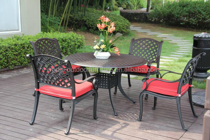 esterno in alluminio pressofuso giardino pensile mobilia del patio set bangkok