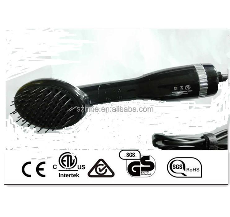 Modelador de cabelo Styler Pro Coleção Um Passo com hot Escova e escova de ar quente secador de ar e secador de cabelo com <span class=keywords><strong>pente</strong></span>