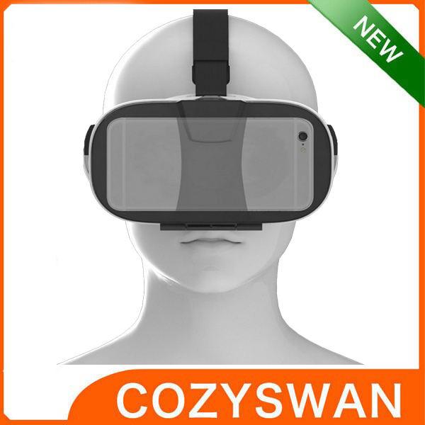 2016 de Cartón CAJA 1 Versión VR VR Realidad Virtual Gafas 3D Bluetooth