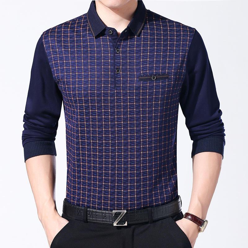 2019 последнее новое поступление формальный стиль мужской равномерный свитер