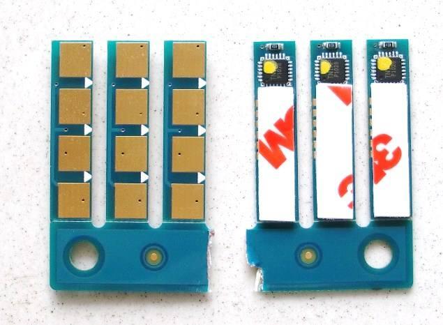 CLT-407 toner Chip compatible pour Samsung CLP320 325 CLX3185 3285 (CHN/DOM/EXP/EUR)