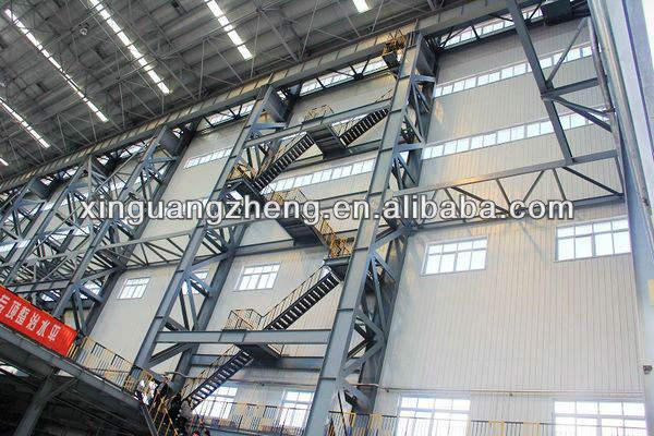 structure en acier préfabriqué entrepôt hangar