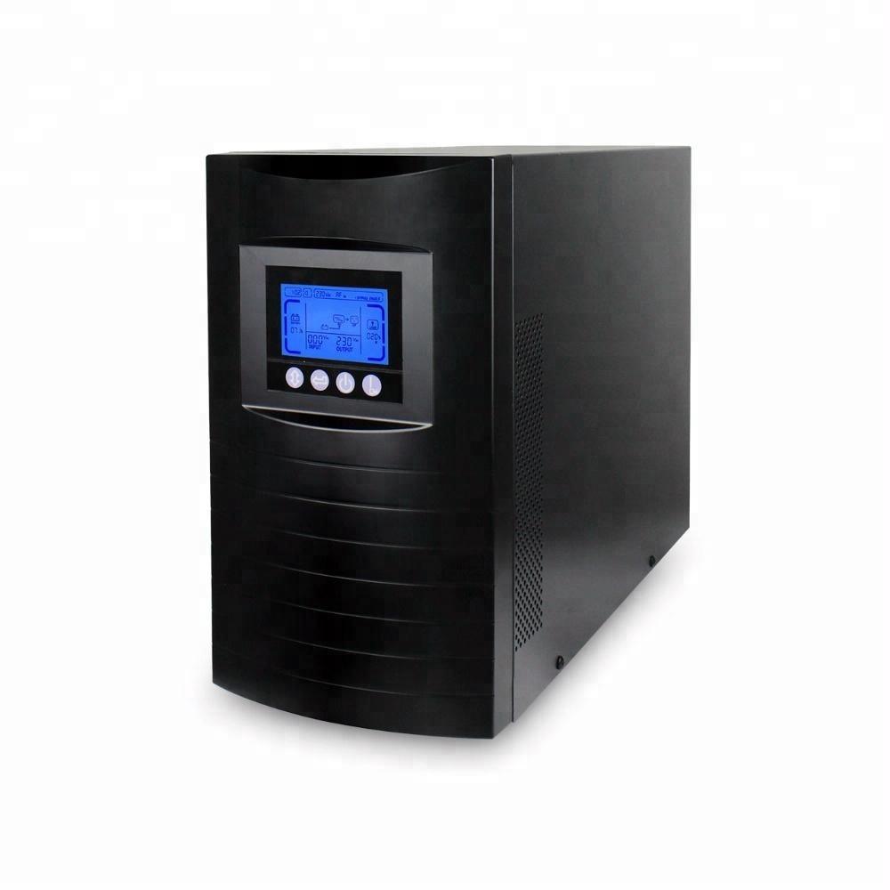 Gran pantalla LCD de alta frecuencia en línea <span class=keywords><strong>UPS</strong></span> de alimentación ininterrumpida