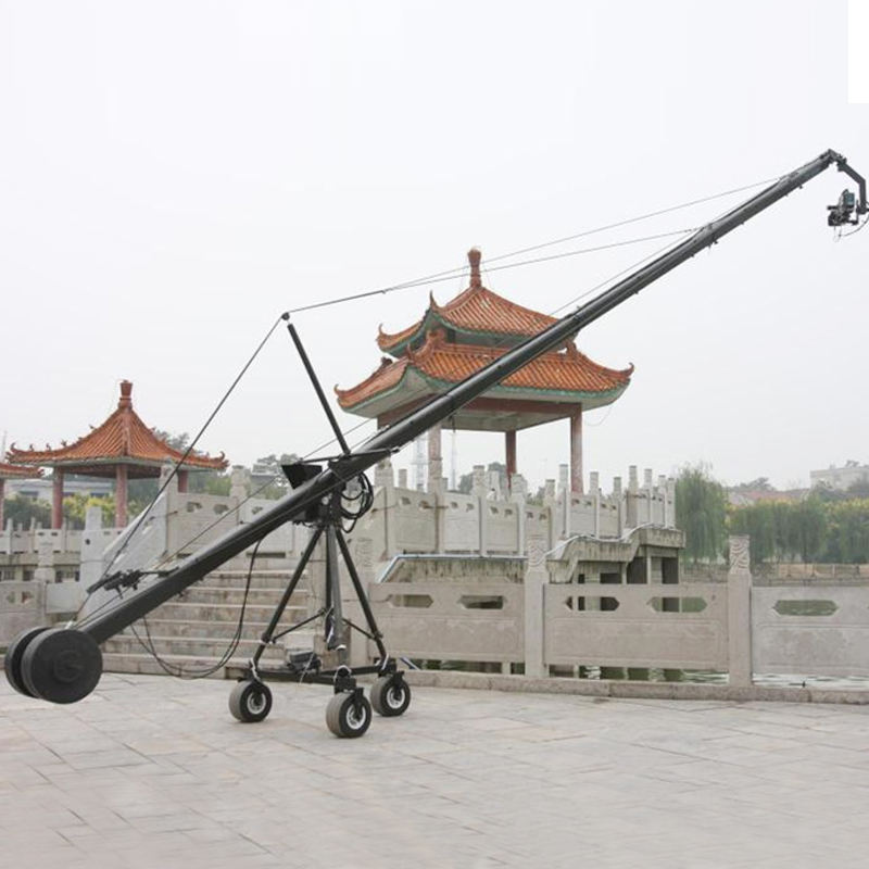 Tipo pesado 10 <span class=keywords><strong>m</strong></span> DSLR video cámara Crane <span class=keywords><strong>jib</strong></span>