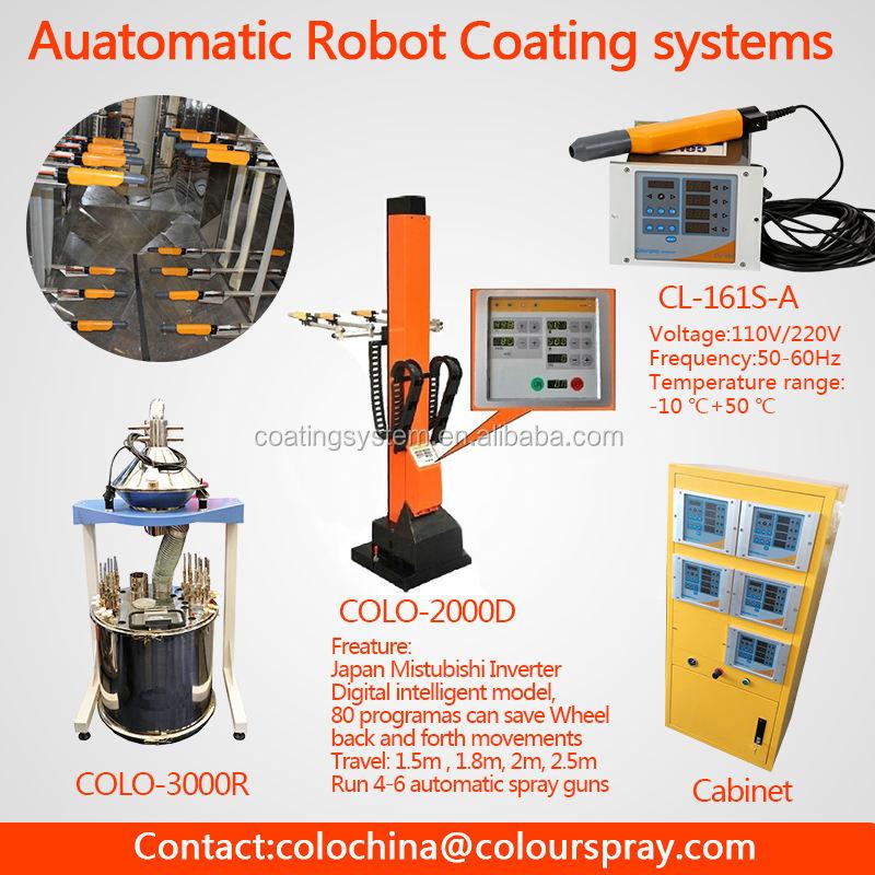 Automatique eletrostatic <span class=keywords><strong>poudre</strong></span> peinture robotique bras avec CE